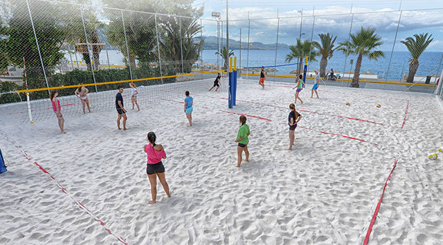 Lida Apartments Kalamata beach volley